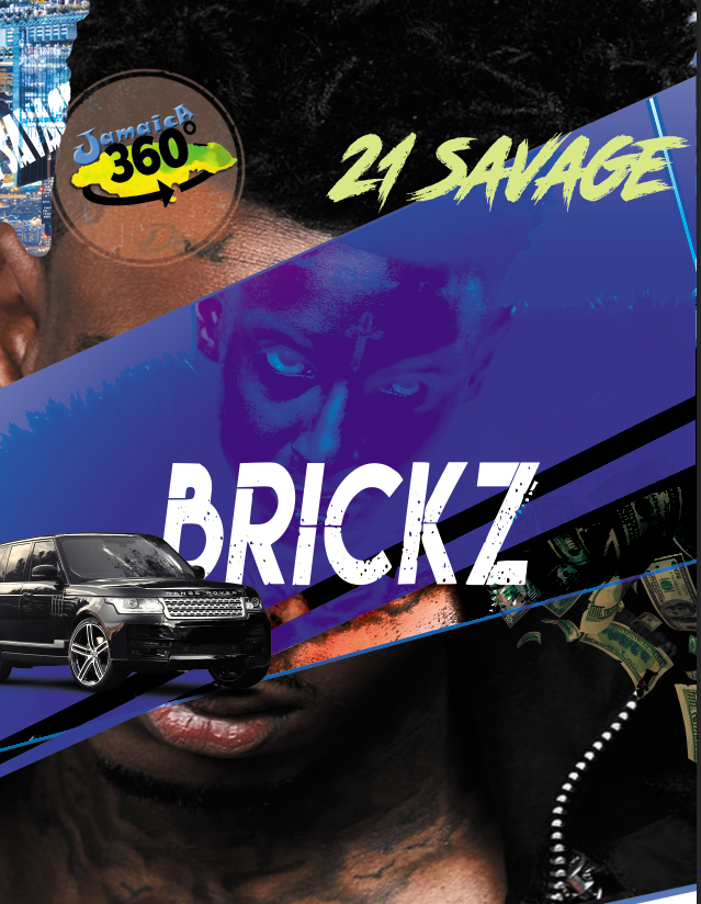 21Savage free psd flyer