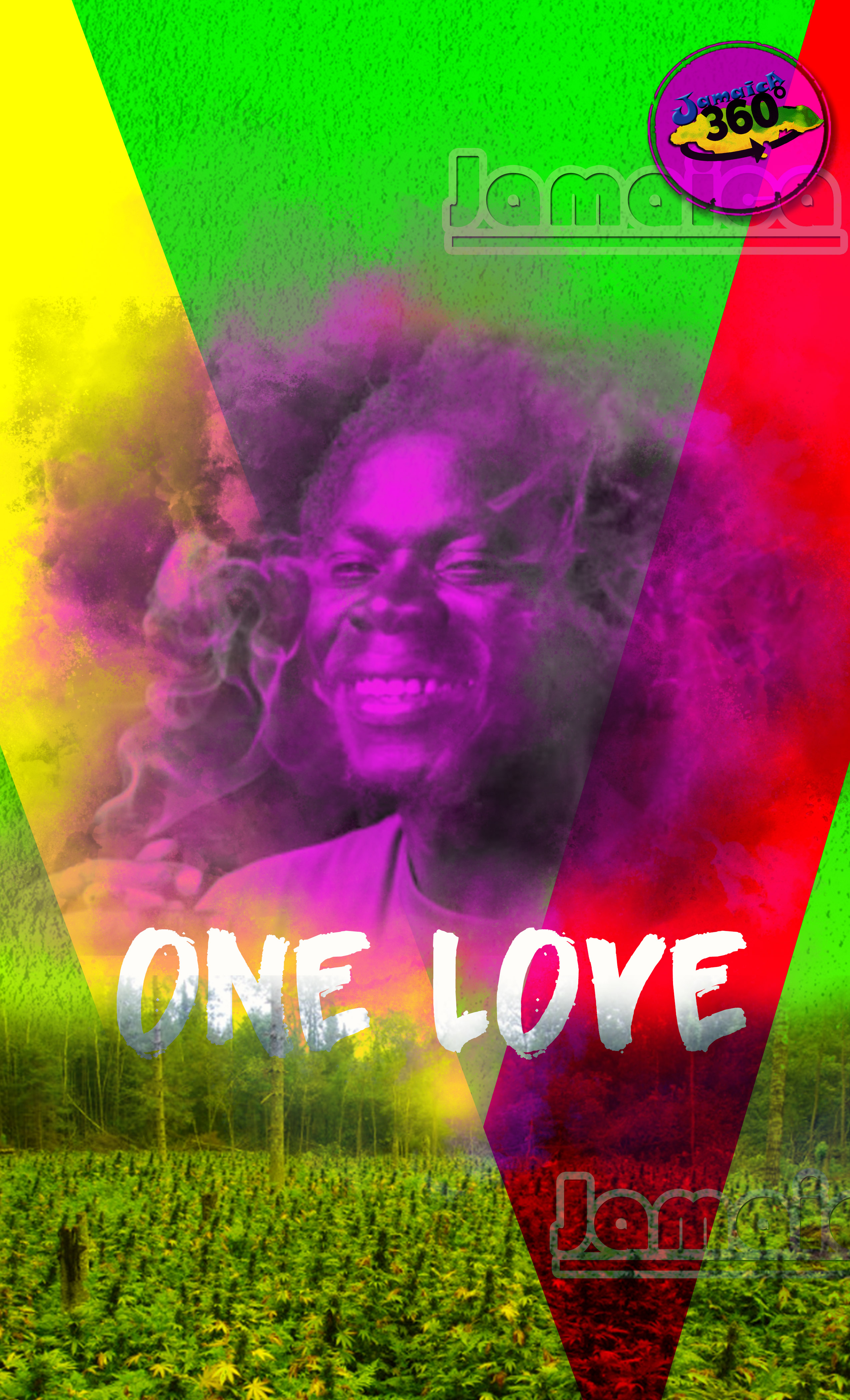 Rasta OneLove Wallpaper and poster