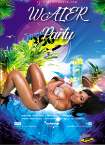 Free PSD flyer jamaica360 media
